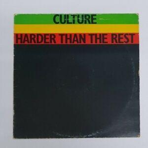 Details about Culture - Harder Than The Rest - 1978 - FL 1016 - UK Pressing  - Vinyl LP
