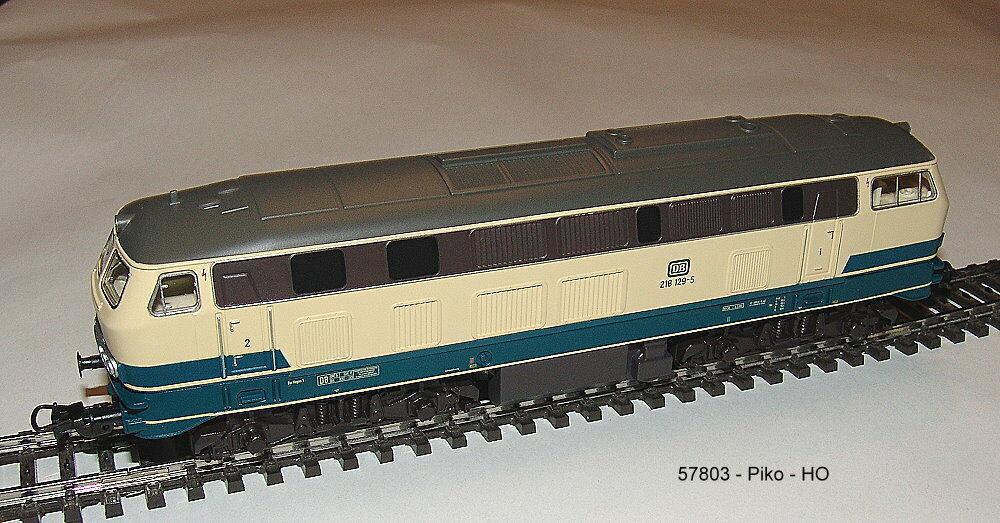 Piko 57803 - Locomotora Diésel Br 218 Der DB,Época VI en el Versión de Corriente