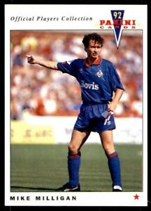 PANINI-joueurs-collection-1992-OLDHAM-ATHLETIC-Mike-Milligan-185