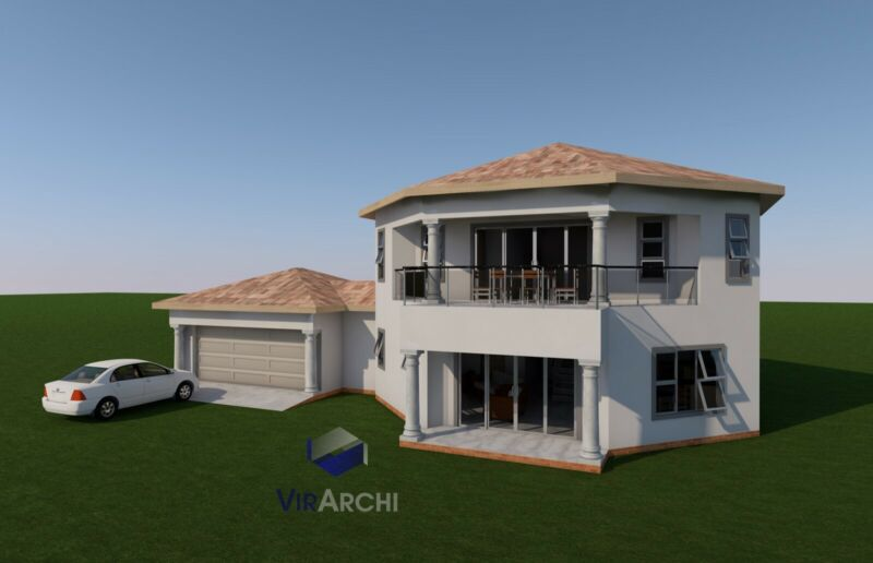 House Plan For Sale 8 Corner Double Story Other Gumtree Classifieds South Africa 601453513