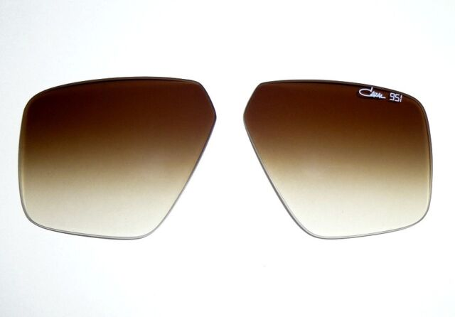Rare Cazal 951 Brown Gradient Replacement Sunglasses Lenses For Sale