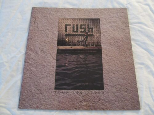RUSH 1991 Roll The Bones Concert Tour Program Book!!!
