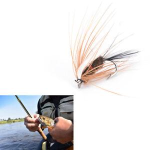5Pcs Wet Flies Fly Fishing Flies Kit Bass Salmon Trouts Sinking Assortment