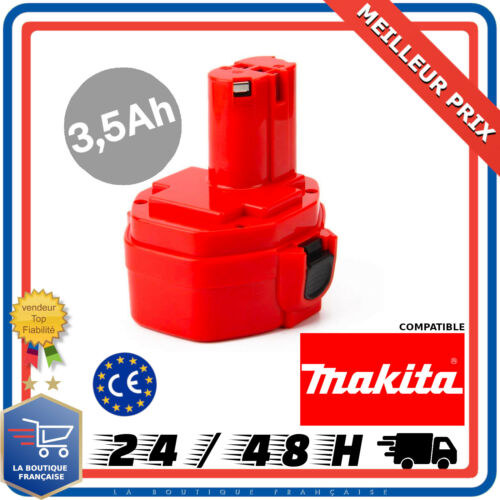 Batterie Pour MAKITA 14.4V 3,5Ah 3500mAh PA14 1420 1422 1433 1434 Jr140d 1435