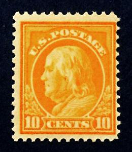 Scott US #416 - 1912-14 Franklin, 10 Cents; MNH, OG, * FREE SHIPPING*; CV=$90
