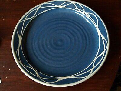 """Aggressivo Tessa Rubra Studio Pottery Plate. 10 1/4"""" Dia- Carattere Aromatico E Gusto Gradevole"""