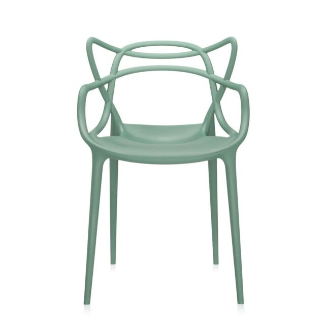 Philippe Starck For Kartell Masters Chair Sage Green 5865 14
