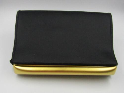 Single zwart Strap goud Vanessa schoudertas hardware Vintage satijnen mat Purs C0nWZ4PE5Z