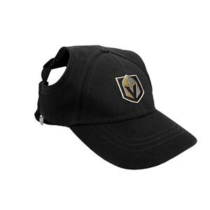 Vegas-Golden-Knights-NHL-Licensed-LEP-Dog-Pet-Baseball-Cap-Hat-Sizes-S-XL