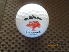 LOGO GOLF BALL-THE SKINS GAME AT LANDMARK GOLF CLUB......CALIFORNIA