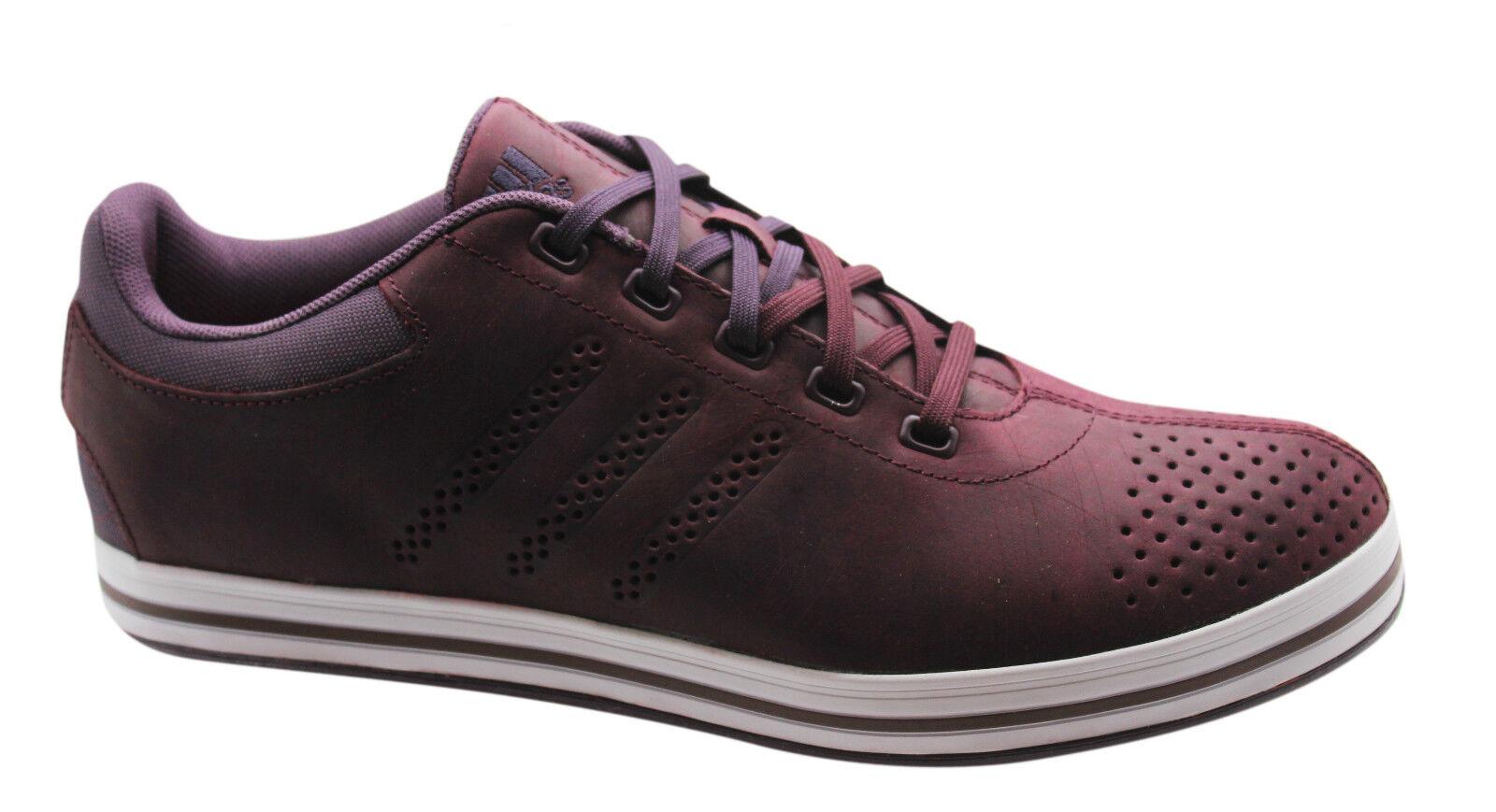 Adidas Perforhommece Sportive Zeitfrei paniers Homme Chaussures Basses en Cuir M18049 D91