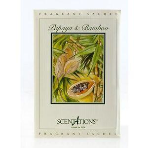 PAPAYA-amp-BAMBOO-Very-Popular-Scentations-SACHET-Home-Fragrance