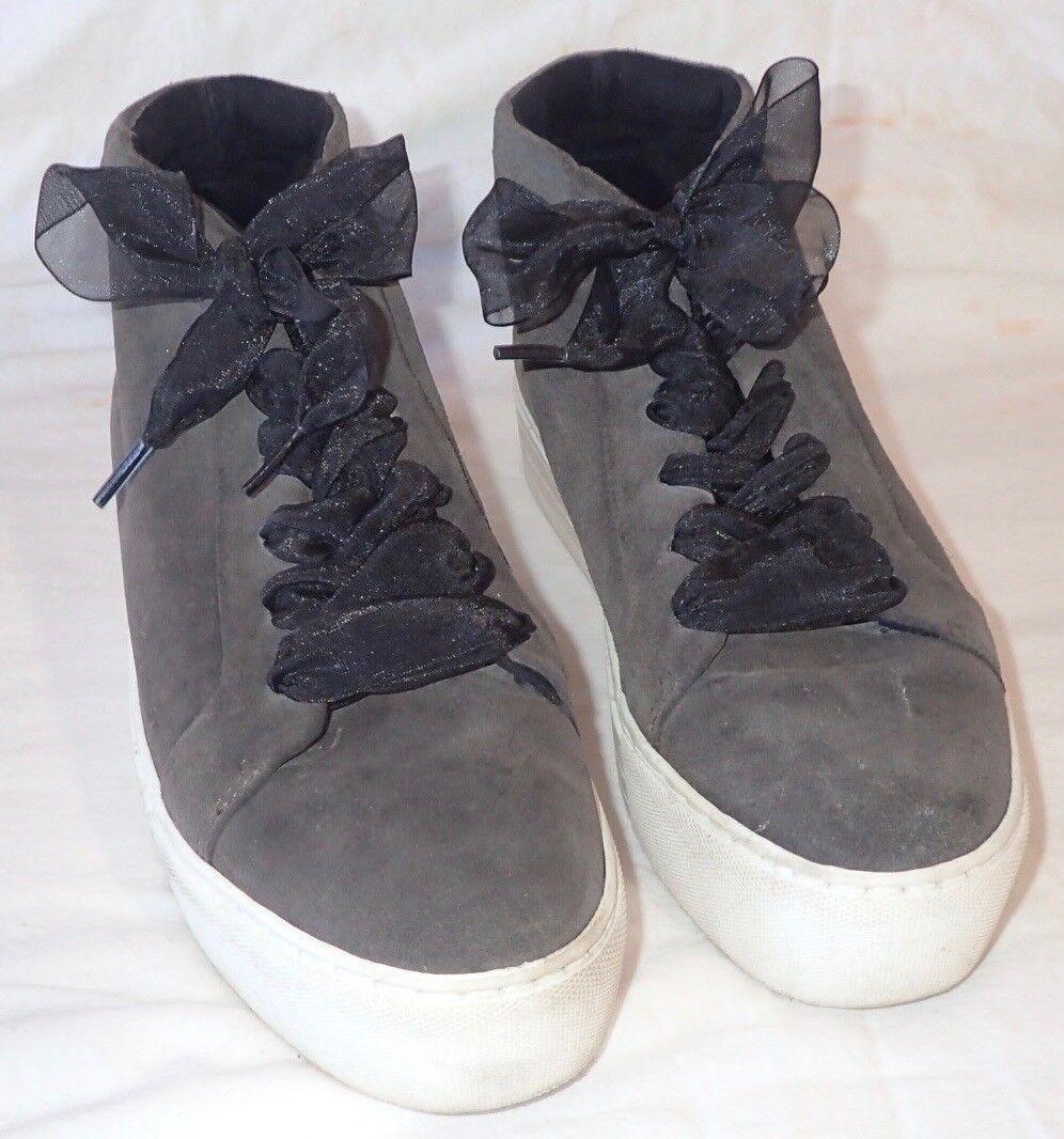Kenneth Cole New York York York Mujeres Janette Altas Con Cordones Zapatillas de plataforma Talla 8 JC  muchas sorpresas