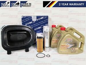Details About For Bmw X5 E70 3 0d M50d 376bhp Engine Air Oil Fuel Service Filter Kit Castrol