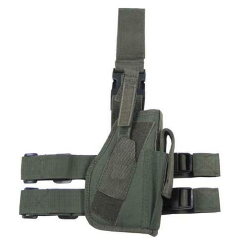 Style Militaire Tactical Drop Leg Holster Airsoft Sécurité Army MFH 30725b Vert