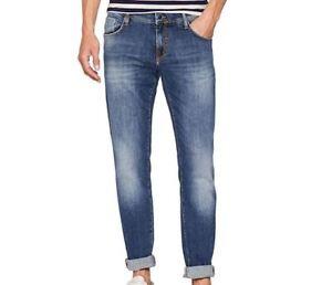 jeans uomo antony morato mmdt00135 keith skinny blue denim new collection fall w