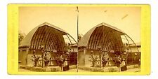 New York City NYC-CLOSE UP OF BIRD CAGE-CENTRAL PARK-J.W./J.S Moulton Stereoview