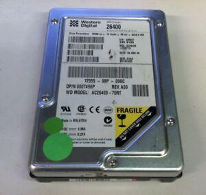 Details About Western Digital AC26400 Vintage 35 64 GB 5400 RPM IDE PATA Hard Disk Drive