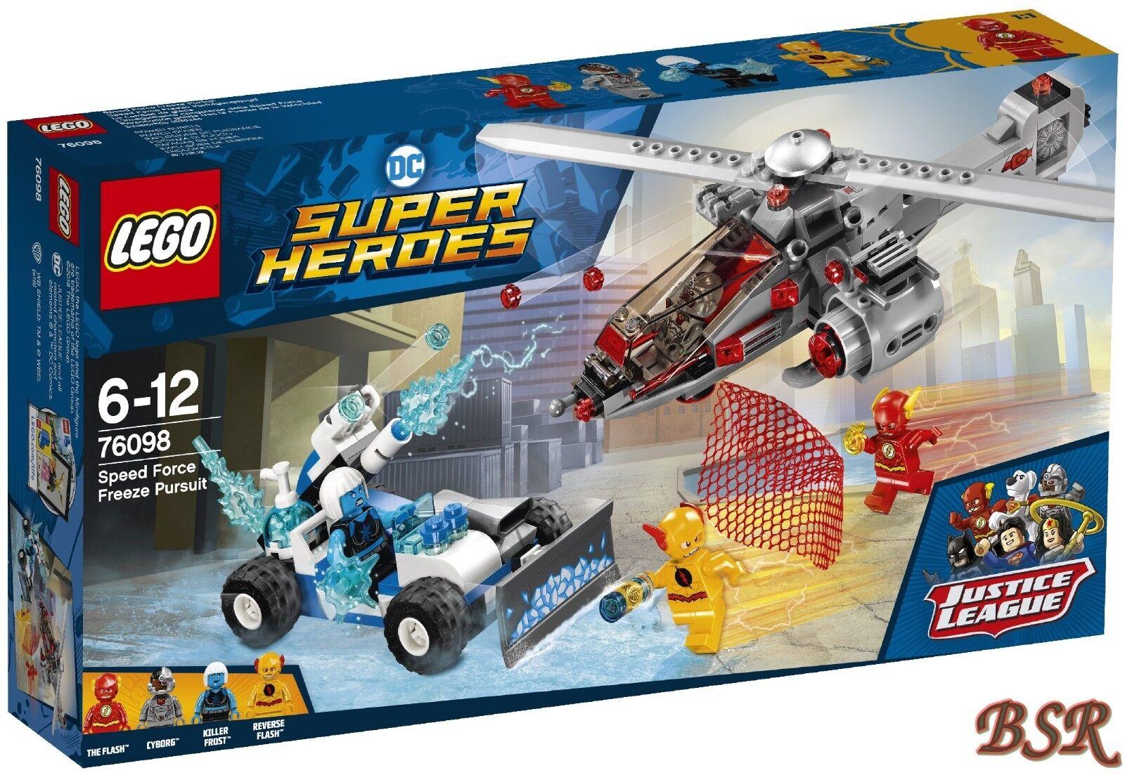 LEGO® Super Heroes  76098 Speed Force Freeze Verfolgungsjagd & 0.-  Versand NEU
