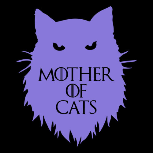 """5.5/"""" MOTHER OF CATS v2 Vinyl Decal Sticker Window Laptop Game of Thrones Funny"""