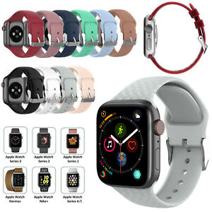 For-Apple-Watch-iWatch-Series-5-4-3-2-1-Silicone-Sport-Strap-Band-38-40-42-44mm