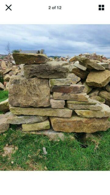 Reclaimed Random Walling Barn Stone Shropshire For Sale Ebay
