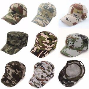 Femme-Homme-Peche-Casquette-Chapeau-Camouflage-Camping-Unisexe-Militaire-Cap