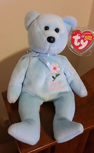 Image is loading Ty-Beanie-Baby-BRITISH-COLUMBIA-PACIFIC-DOGWOOD-Bear- b3267a3ad9ed