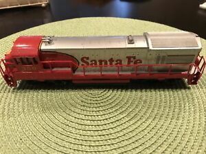 Bachmann-GE-Diesel-Locomotive-Santa-Fe-350-HO-Scale-Train-Engine