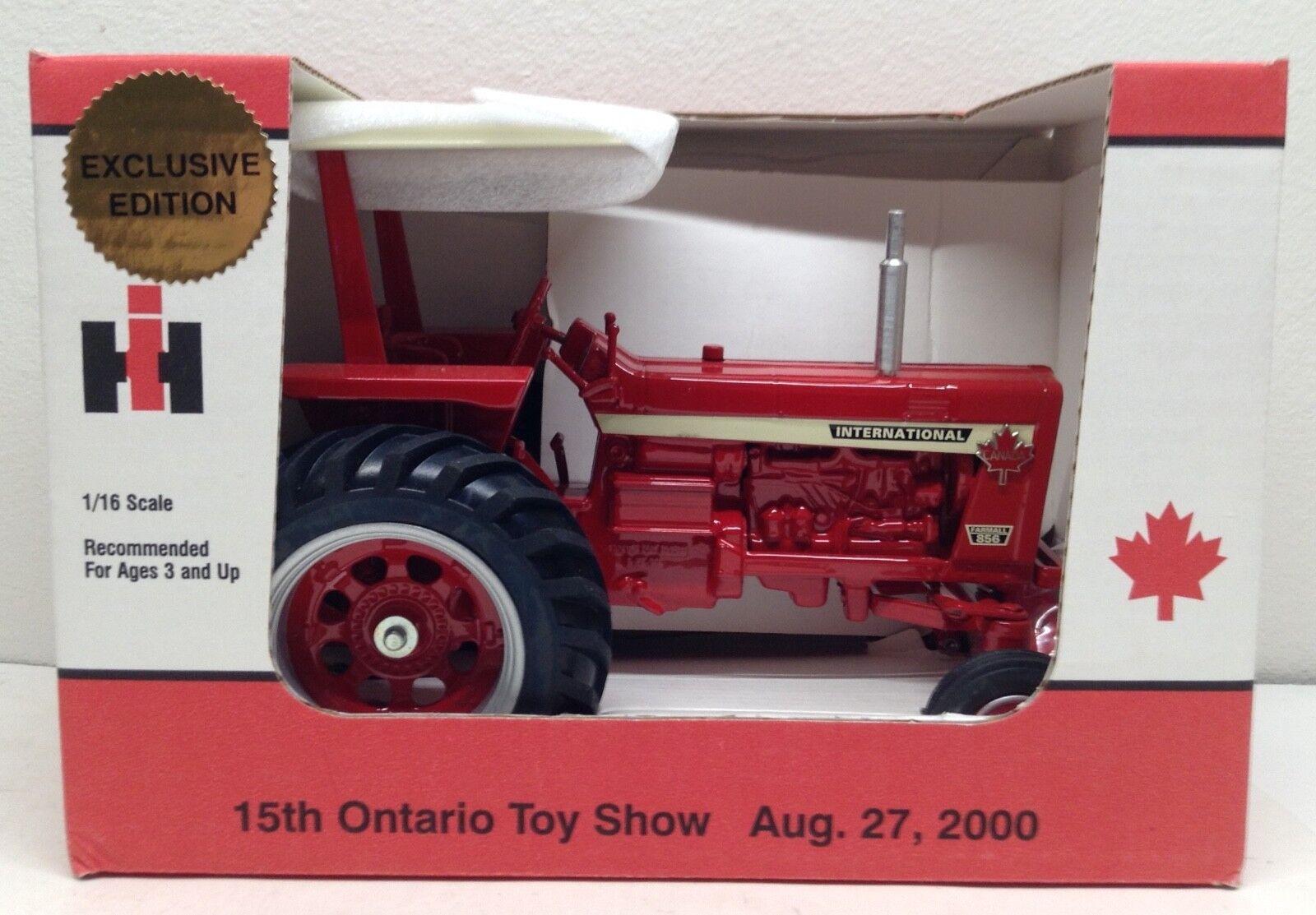 IH  International FARMALL 856 tracteur avec auvent Ontario Show Scale Models 1 16  magasiner en ligne aujourd'hui