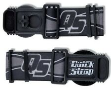 GOGGLE QUICK RELEASE STRAPS STRAP HELMET BLACK MOTOCROSS ENDURO OAKLEY E FRAME
