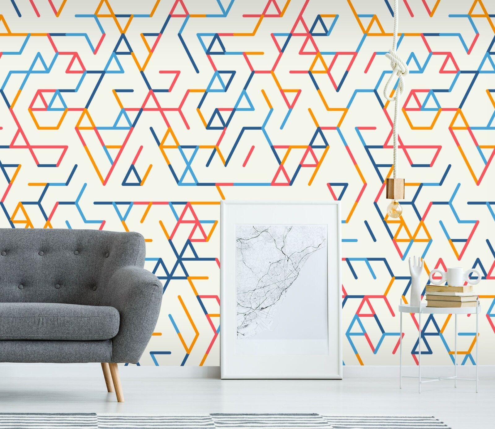 3D Creative Pattern 315 Wallpaper Mural Print Wall Indoor Wallpaper Murals UK