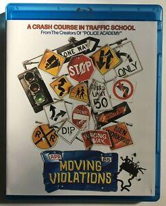 MOVING-VIOLATIONS-Blu-Ray-Wacky-80s-Comedy-Jennifer-Tilly-Police-Academy