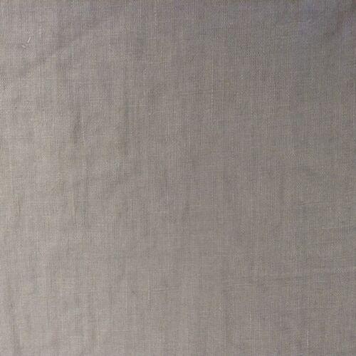 Francés Vintage Lavado a La Piedra Lino Ratón Gris Cortina//artesanía//Tela de tapicería