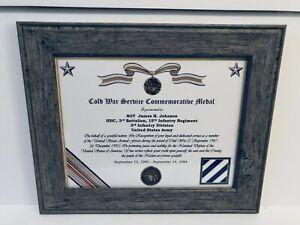 Military-Commemorative-Cold-War-Service-Commemorative-Medal-Certificate