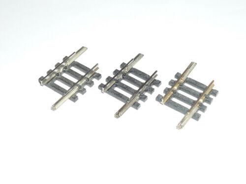 14903 MINITRIX N 4903 gerades Gleis 17,2mm X499X 3 Stück