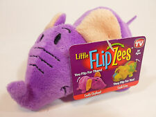 "Little FLIPZEES from Flipazoo 1- Flipzee  5"" Emily Elephant Lush Lion New"