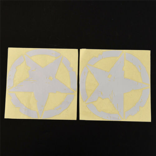15cm*15cm ARMY Star Graphic Decals Motorcycle Car Stickers Vinyl Car-styling FG