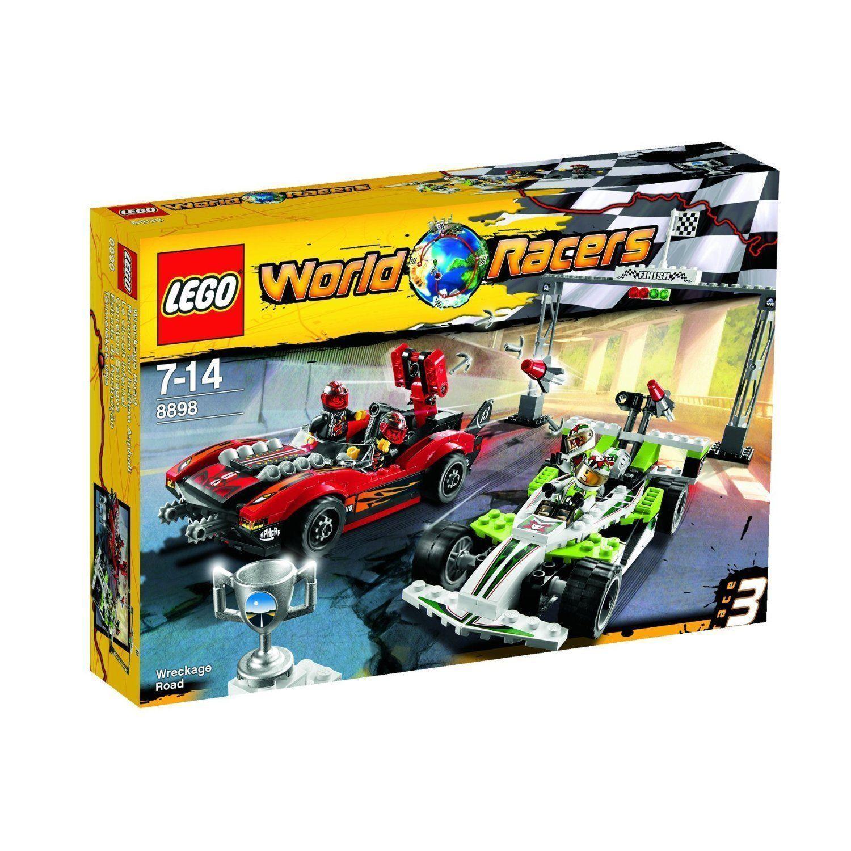 LEGO World Racers 8898 - Rennen auf heißem Asphalt , NEU,OVP