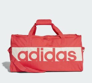 7a5d0080be Image is loading Adidas-Linear-Performance-Duffel-Bag-Training-gym-Sport-