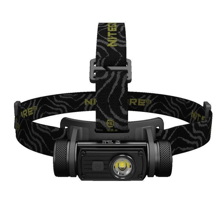 Nitecore HC60 LED Stirnlampe Stirnleuchte Taschenlampe Kopflampe 1000 Lumen USB  | Online Outlet Store
