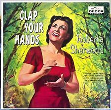 Roberta Sherwood - Clap Your Hands LP Archive Mint- DL 8863 1st 1959 Record