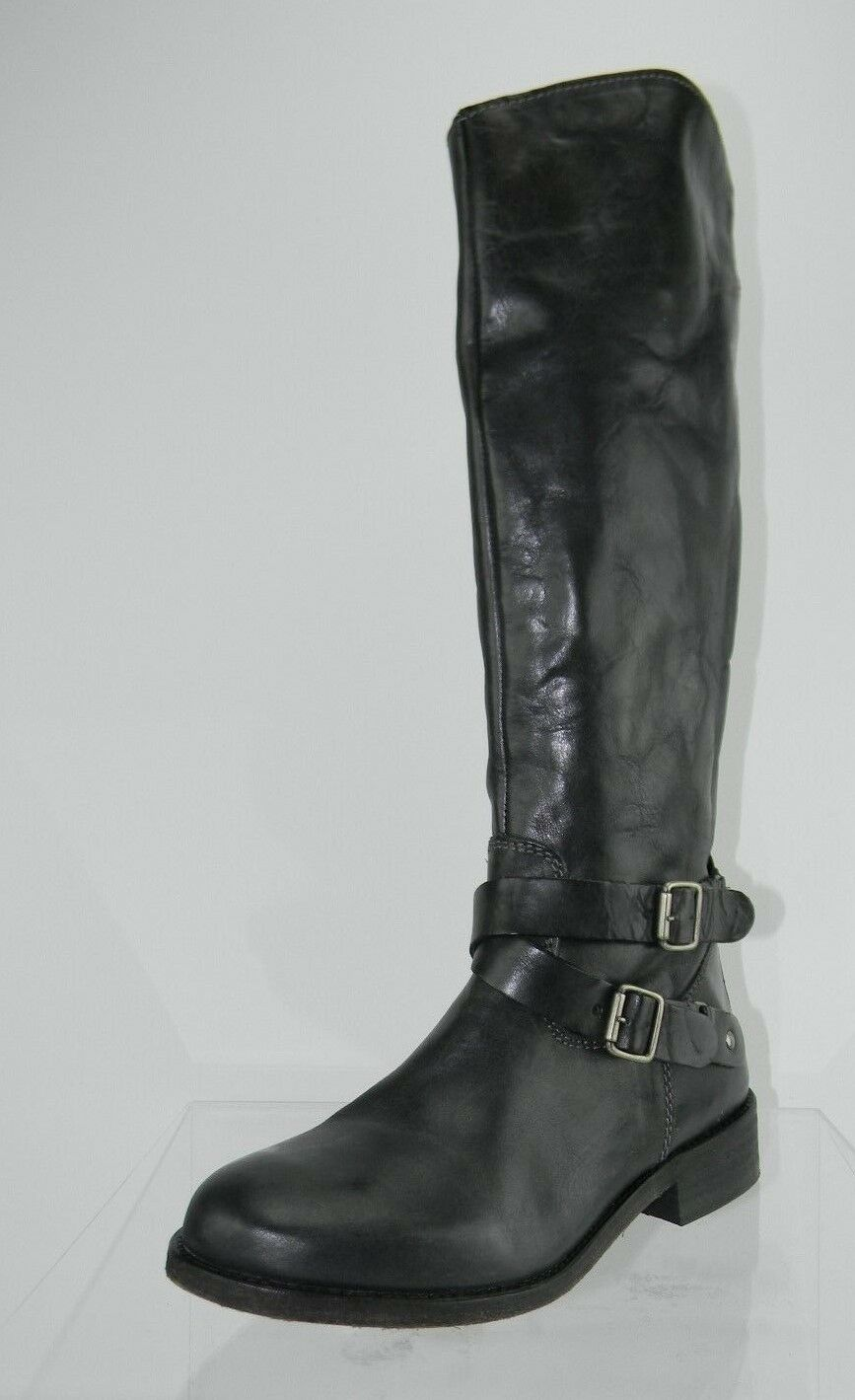 Womens Hinge Devin Black Knee High Boots Size 6 M