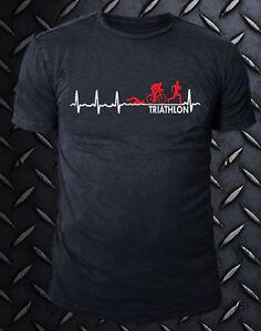 Sport Happiness Maglietta No Ciclismo Nuoto Triathlon Tshirt T Shirt 3uTcJlKF1