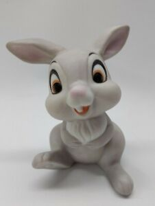 "Vintage Walt Disney Productions ceramic Thumper figurine 3"" tall"