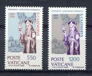 s25515) DEALER STOCK VATICANO 1984 Saint Casimir 2v (X10 SETS)