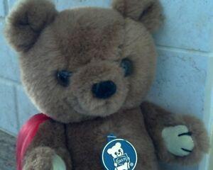 "DAKIN BROWN TEDDY BEAR  ""THEODORE""  PLUSH JOINTED POSEABLE BEAR!"