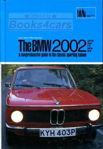 BMW 2002 BOOK TAYLOR MACARTNEY GUIDE 1966-1977