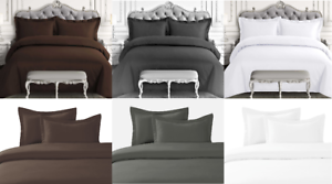 2-3-Piece-Solid-Duvet-Cover-Comforter-Bed-Bedding-Coverlet-Set-with-Pillowcases