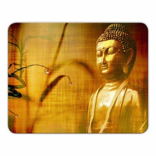 "Buddhismus Yoga Mousepad /""Buddha/"" Meditation Mauspad Sanskrit"